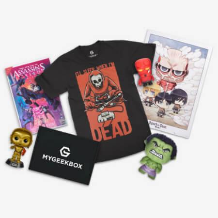 My geek box Subscription Box Australia
