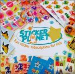 Sticker planet Subscription Box Australia