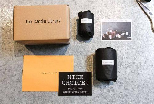 The candle club Subscription Box Australia