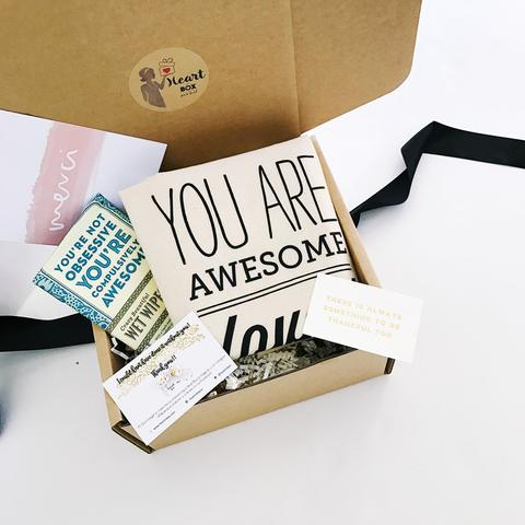 heart in a box Subscription Box Australia