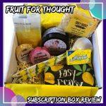 , Fruit for Thought June 2019 – Lemonade Review