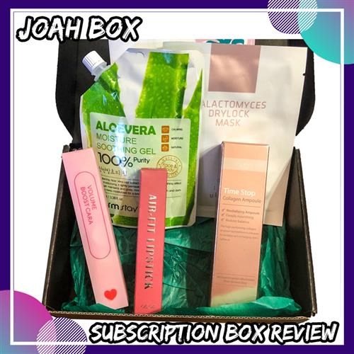 , Joah Box June 2019 Review
