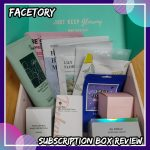 Facetory AUG 2021 Subscription Box Review